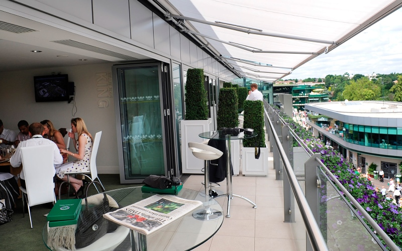skyview suites wimbledon hospitality tickets 2017