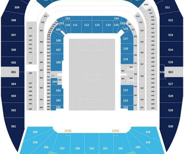 Tottenham Vs Ajax Tickets Away End: Tottenham Hotspur- Travel Club Long Central