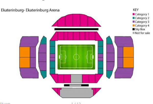 ekaterinburg arena world cup 2018 football