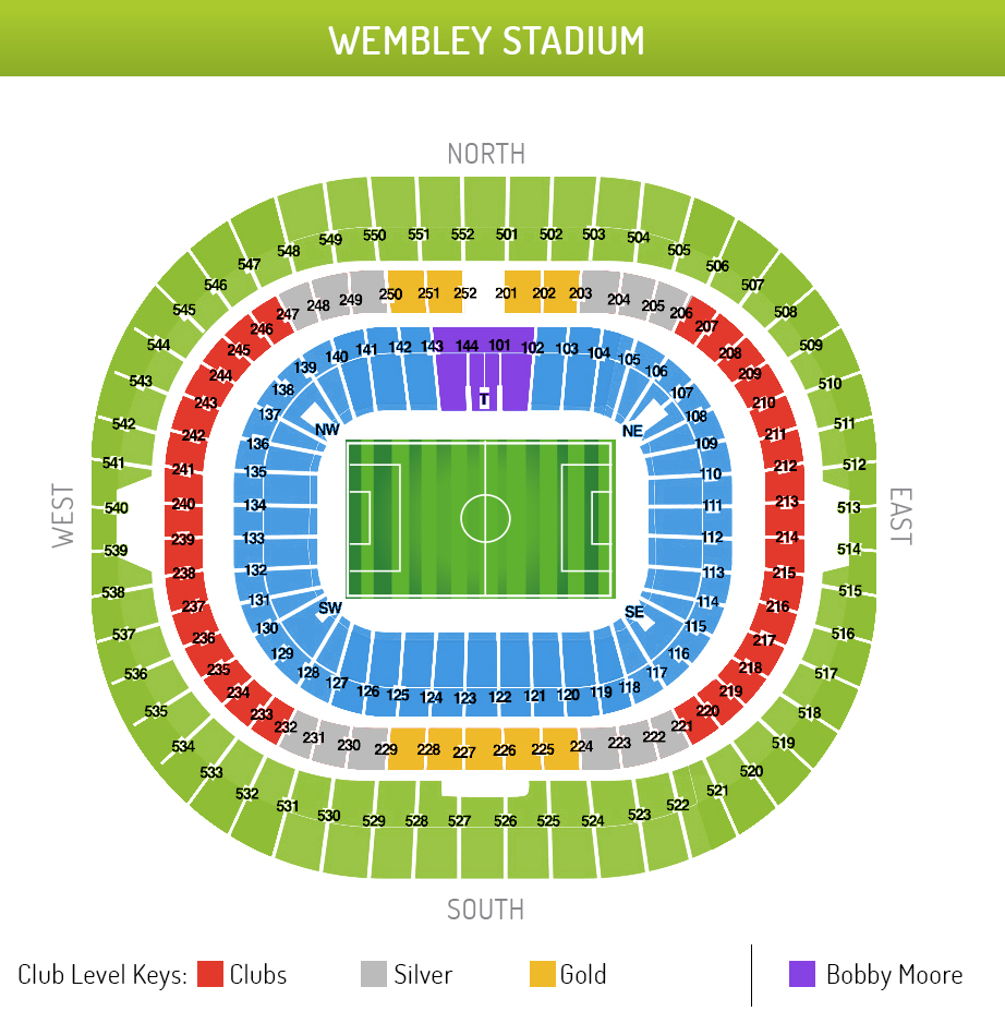 Wembley Stadium FA Cup Final 2018 Tickets